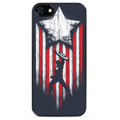 Чехол для iPhone Captain America