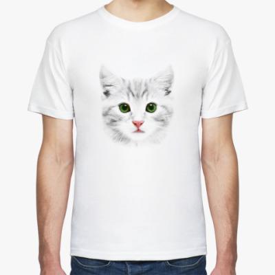 Футболка  Grey Cat