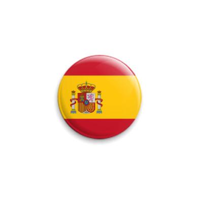 Значок 25мм Флаг Испании