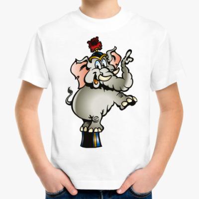 Детская футболка 'Слон'