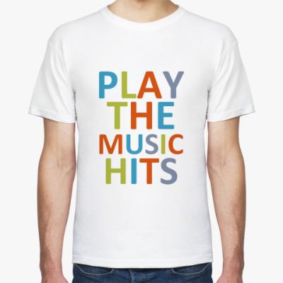 Футболка Play the Music hits