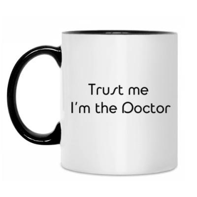 Кружка Trust me I'm the Doctor