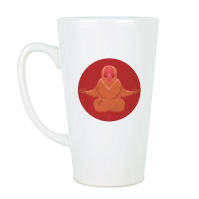Чашка Латте Animal Zen: U is for Uakari