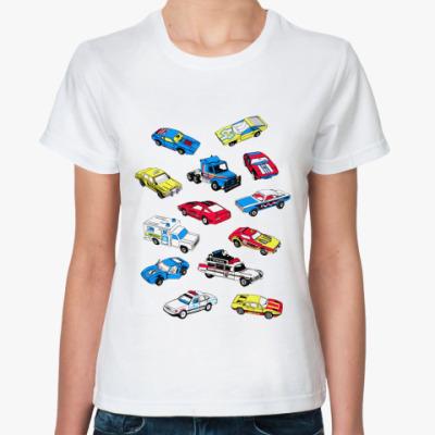 Классическая футболка Cars  футболка