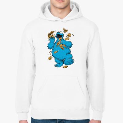 Толстовка худи Cookie Monster