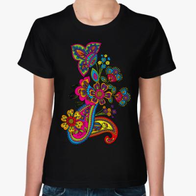 Женская футболка Красивый узор