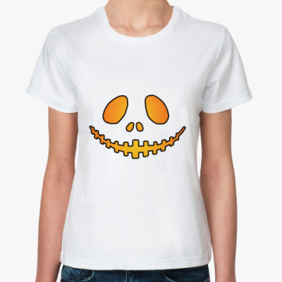 Классическая футболка Helloween Smile Жен