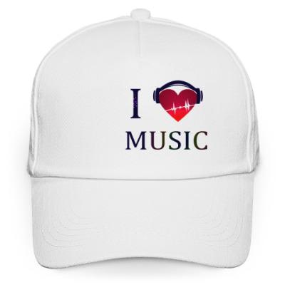 Кепка бейсболка Кепка с любовью к музыке
