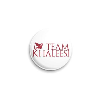Значок 25мм Команда Кхалиси