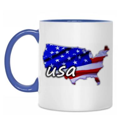Кружка Америка