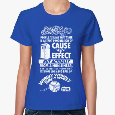 Женская футболка Доктор Кто (Doctor Who)