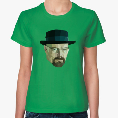 Женская футболка Хайзенберг/Heisenberg