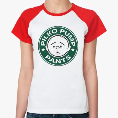 Женская футболка реглан Pilko Pump