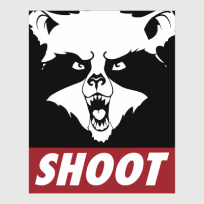 Постер Raccoon Shoot