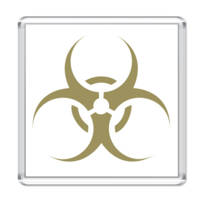Магнит  'biohazard'