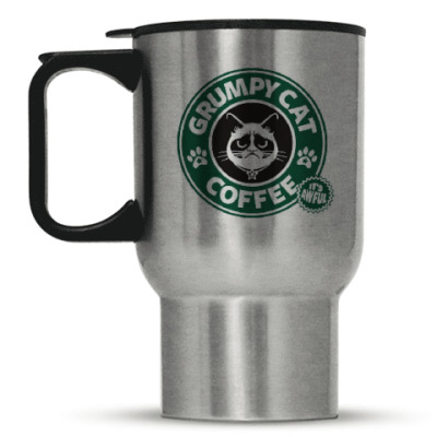 Кружка-термос Grumpy Cat coffee!
