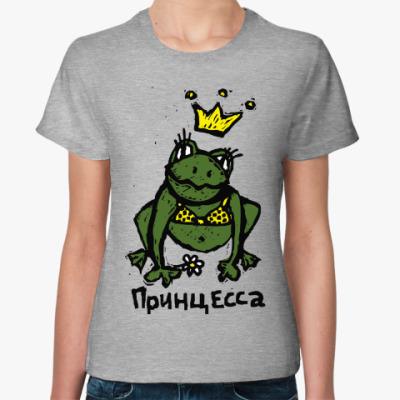 Женская футболка Принцесса