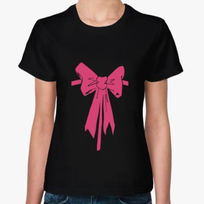 Женская футболка Бант