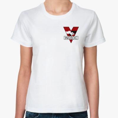 Классическая футболка  АНГСОЦ