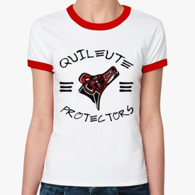 Женская футболка Ringer-T Quileute Pr  Ж(б/к)
