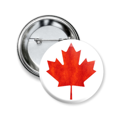 Значок 50мм Канада
