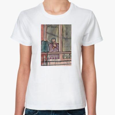 Классическая футболка Афины