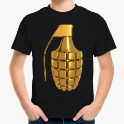 Детская футболка Золотая Граната