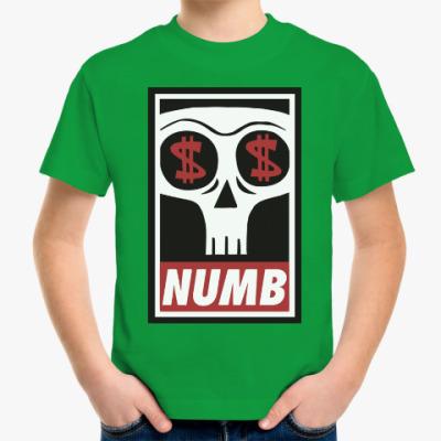Детская футболка Numb