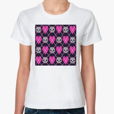 Классическая футболка  футболка  Ромбы
