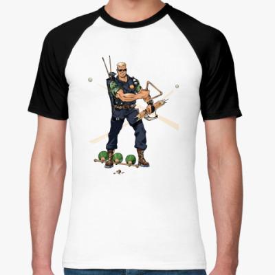 Футболка реглан Billiard Ranger