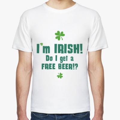 Футболка I'm Irish!