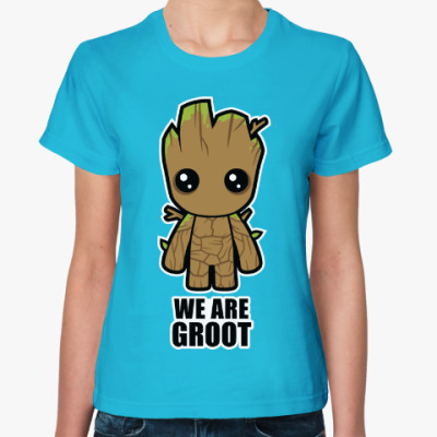 Женская футболка We are Groot