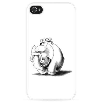 Чехол для iPhone Прокаченный слон