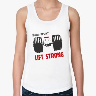 Женская майка Hard sport - Lift Strong