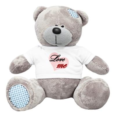 Плюшевый мишка Тедди Love me