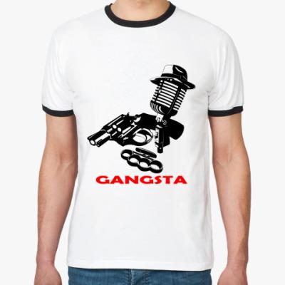 Футболка Ringer-T Rap Gangsta