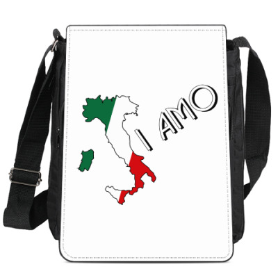 Сумка-планшет Я люблю тебя по-итальянски