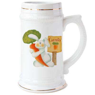 Пивная кружка Carrots - туда!