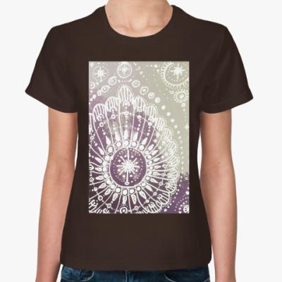 Женская футболка Рассвет
