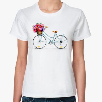 Классическая футболка Велосипед