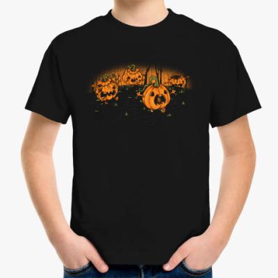 Детская футболка Бегущие Тыквы