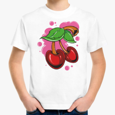 Детская футболка Черешня