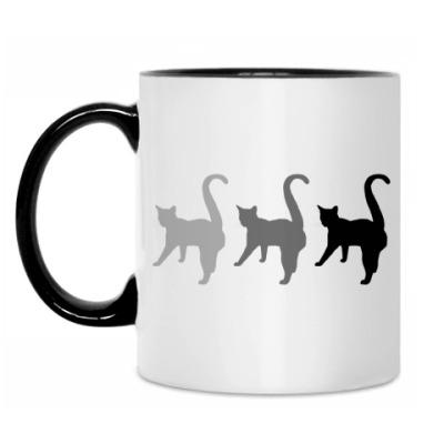 Кружка Три кота