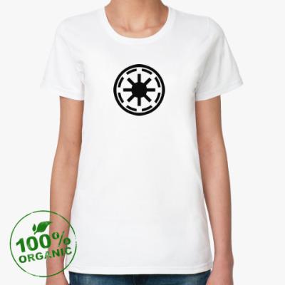 Женская футболка из органик-хлопка republic