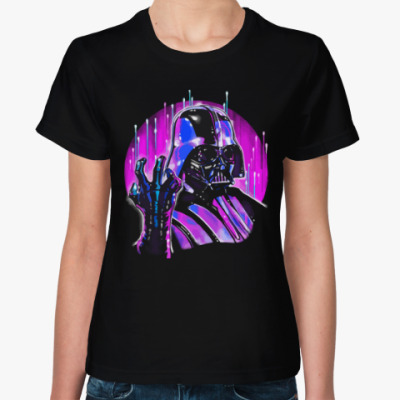 Женская футболка Дарт Вейдер (Звездные Войны)