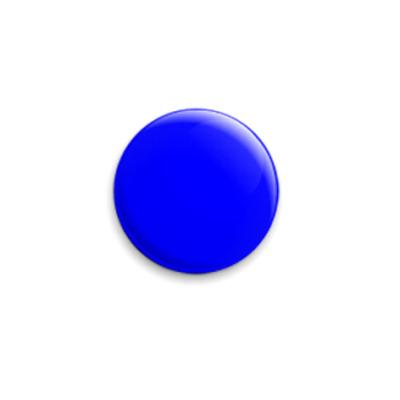 Значок 25мм «Blue»