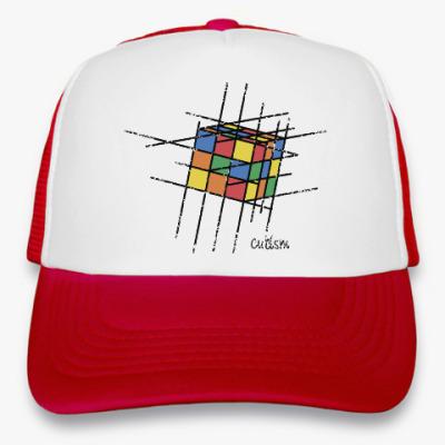 Кепка-тракер Кубик Рубика | Rubiks Cube