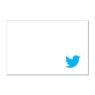Наклейка (стикер) Twitter Sticer