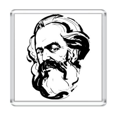 Магнит    Карл Маркс