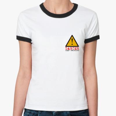 Женская футболка Ringer-T DANCER